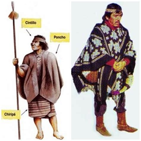 Información Pueblo Mapuche: Vestimenta Hombre Mapuche
