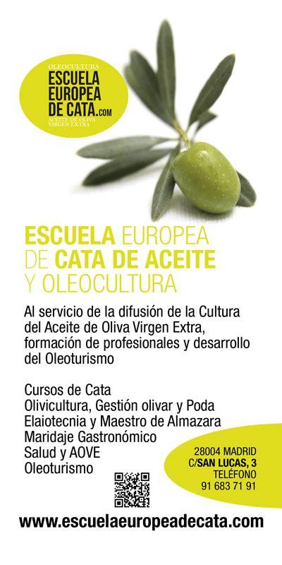 Información sobre el aceite de oliva virgen extra y el olivar