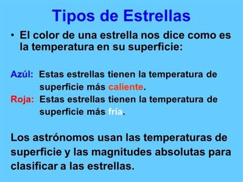 Información sobre las Estrellas: Formación y Apariencia ...