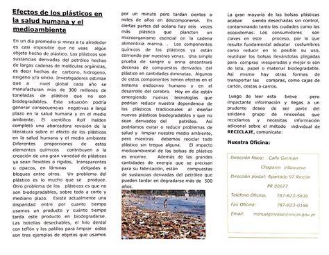 Información sobre Reciclaje   Municipio de Rincón