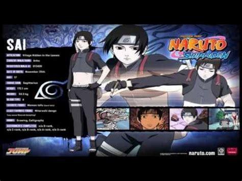 Informaciones sobre los personajes de Naruto Shippuden ...