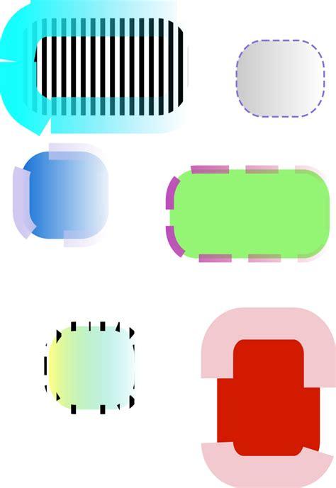 Informática con Cintia: Tipos de rectángulos y cuadrados