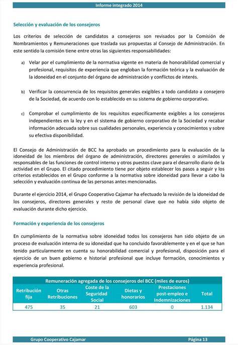 Informe integrado del Grupo Cooperativo Cajamar   PDF
