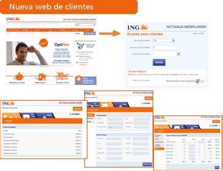 ING Nationale Nederlanden renueva su web privada de ...