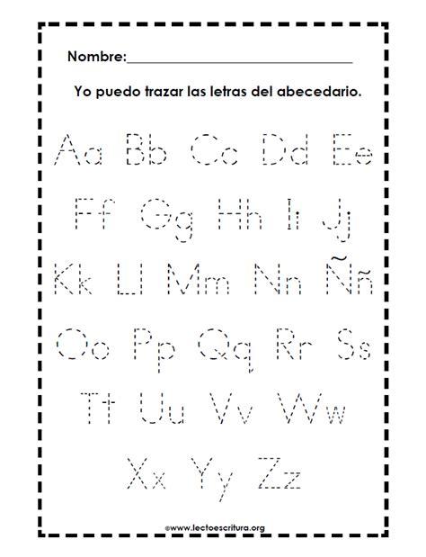 Ingles Para Ninos De Preescolar Para Trazar Letras ...