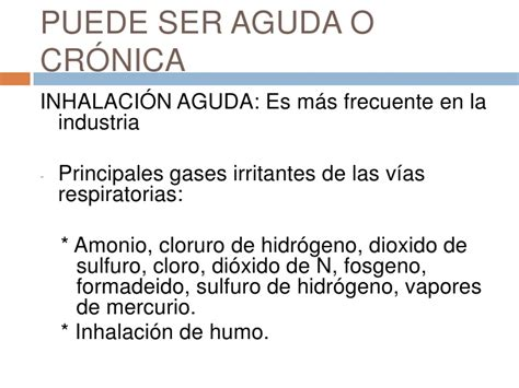 Inhalación de gases tóxicos y humo