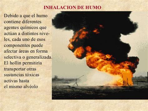 Inhalacion de humo