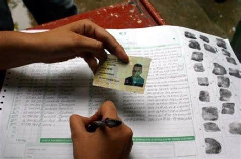 Inicia proceso de inscripción de cedulas para elecciones ...