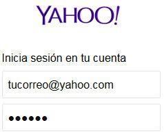 Iniciar sesión Yahoo! Mail - Bandeja de entrada