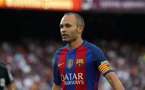 Iniesta rejects China deal for Barcelona   Vivaro News