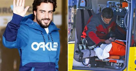 Injured McLaren driver Fernando Alonso hits the gym as he ...
