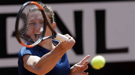 Injured Simona Halep '50 50′ for French Open | The Indian ...