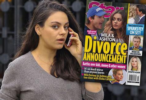 Inside Ashton Kutcher & Mila Kunis  Shocking Marriage Meltdown
