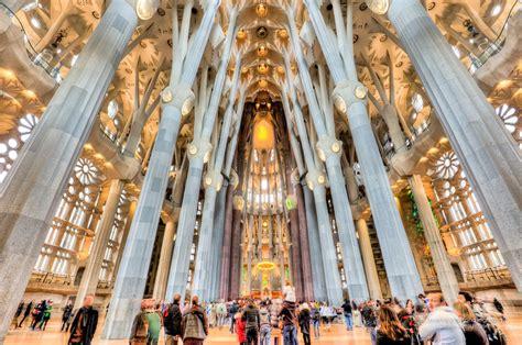 Inside the Sagrada Familia temple in Barcelona | Travel ...
