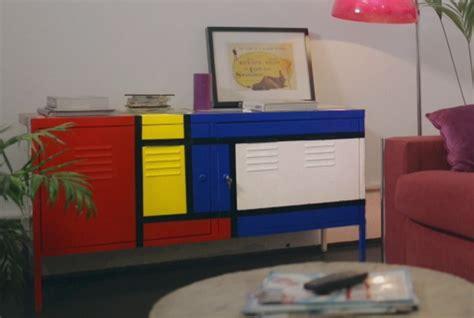 Inspiración Mondrian para pintar un mueble de Ikea ...