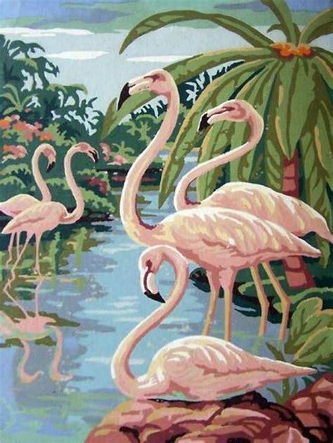 Inspired By: Flamingos | Flamenco, Cuadros pintados y ...