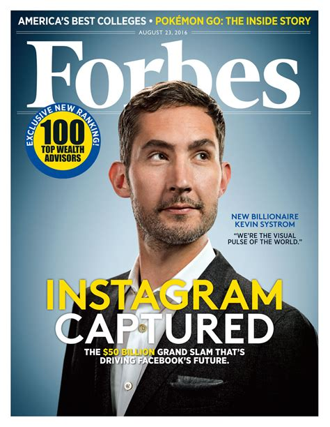 Instagram CEO Kevin Systrom Joins Billionaire Ranks As ...