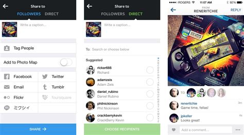 Instagram Direct now lets you send private and group ...