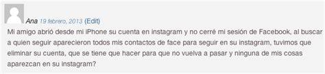 Instagram me muestra las notificaciones de otra persona ...