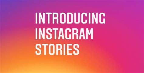 Instagram Stories : vous pouvez enregistrer en permanence ...