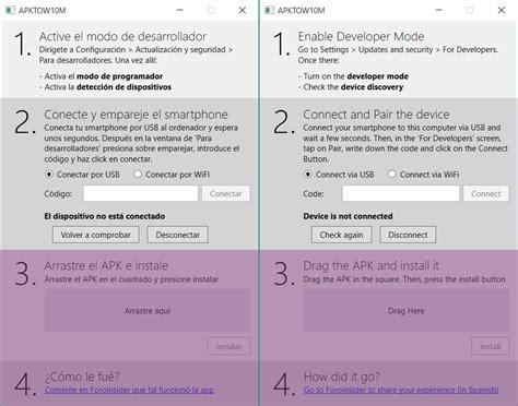 Instala las apps de Android en Windows 10 Mobile ...