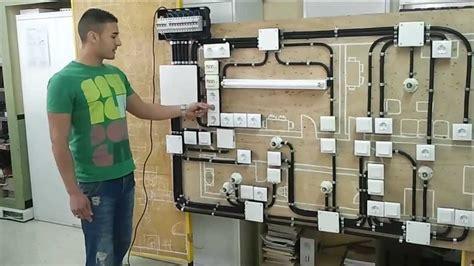 Instalación Eléctrica en Vivienda realizada por el Alumno ...