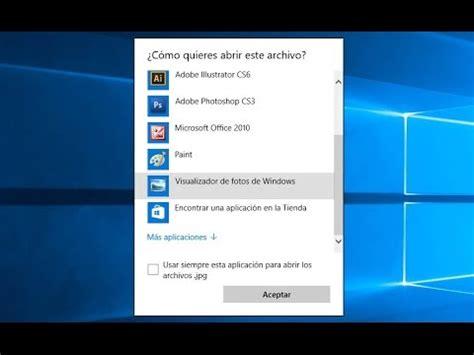 Instalar el Visor de fotos de Windows 7 en Windows 10 ...