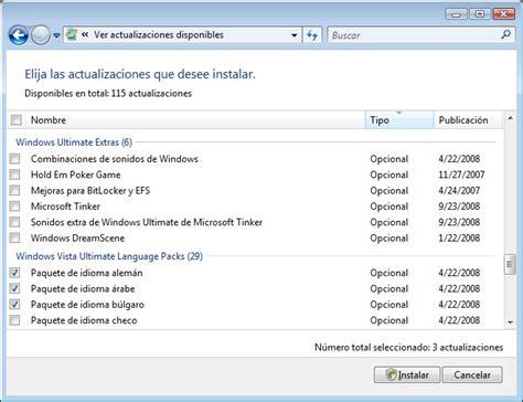 Instalar Paquetes De Idiomas En Windows 7 | instalar ...