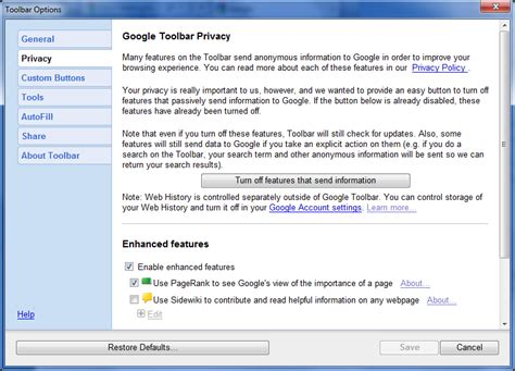 Install Google Toolbar For Windows Xp   exchangeload