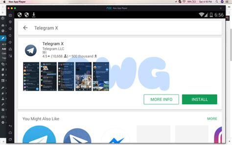 Install Telegram X for PC: Windows/Mac Free   PC Windows Guide
