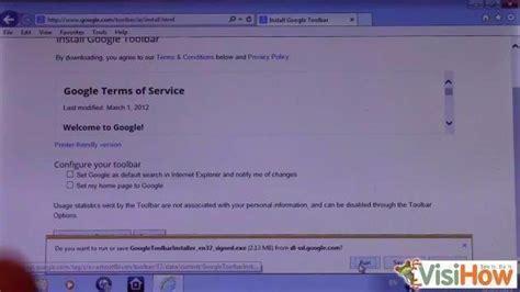 Install the Google Toolbar in Internet Explorer 11   VisiHow