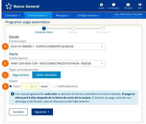 Instructivos de uso Banca en Línea - Banco General Panamá