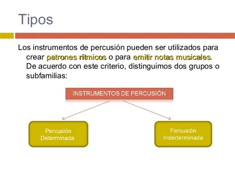 Instrumentos de la orquesta. Familia de percusión