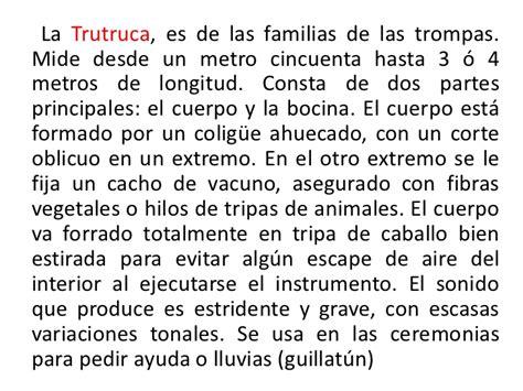 Instrumentos mapuches