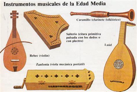 Instrumentos musicales de la Edad Media | HISTORIA MUZYKI ...