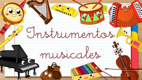 INSTRUMENTOS MUSICALES en ESPAÑOL para niños - Vídeos ...