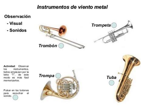 Instrumentos musicales reconocimiento