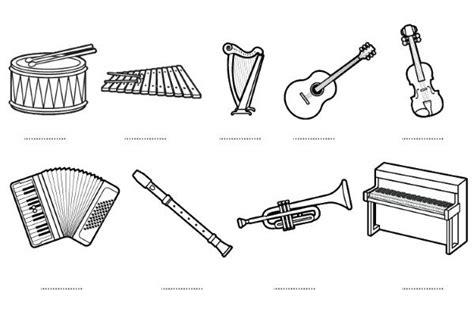 Instrumentos musicales – Dibujos para colorear | Colorear ...