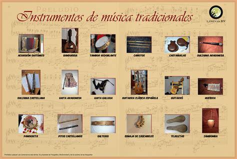 INSTRUMENTOS MUSICALES TRADICIONALES | Biodiversidad Virtual