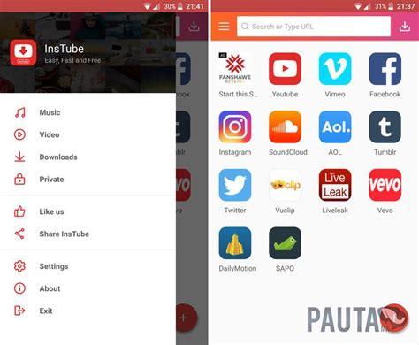 InsTube, una aplicación para descargar vídeos de YouTube y ...