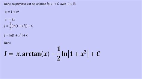 Integration de Arctan x    YouTube