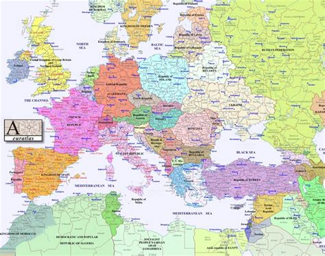 Interactive Historical Map of Europe