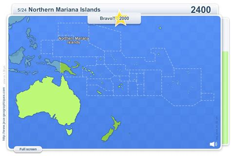 Interactive map of Oceania Geo Quizz Oceania . Geography ...