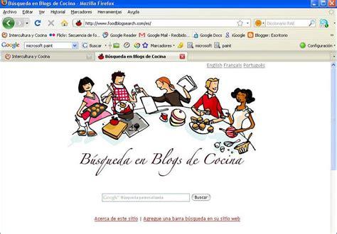 Intercultura y Cocina: Buscar recetas en blogs de cocina