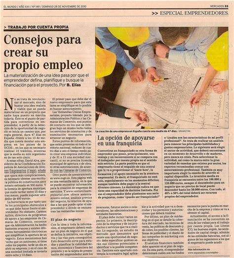 Interesante reportaje sobre emprendedores | Andalucía ...