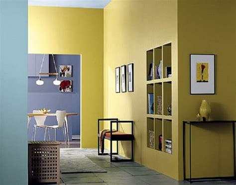 Interior Wall Paint Colors In Yellow, behr interior paint ...