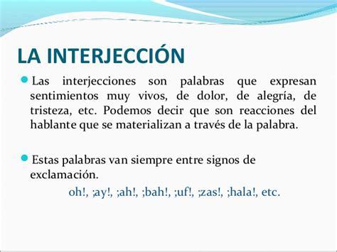 Interjeccion. | Interjecciones | Pinterest