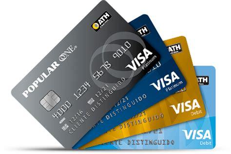 International ATH Visa Debit Card