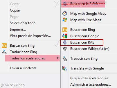 Internet Explorer 9: Buscadores personalizados II – RAE ...