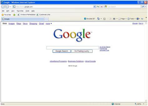 internet explorer homepage google homepage internet explorer
